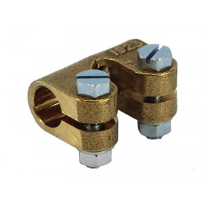 "Throttle & Choke Connector - 1/4"" Spindles"