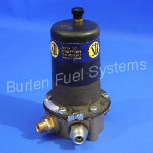 LP Fuel Pump Electronic - Negative Earth (Brass Body)
